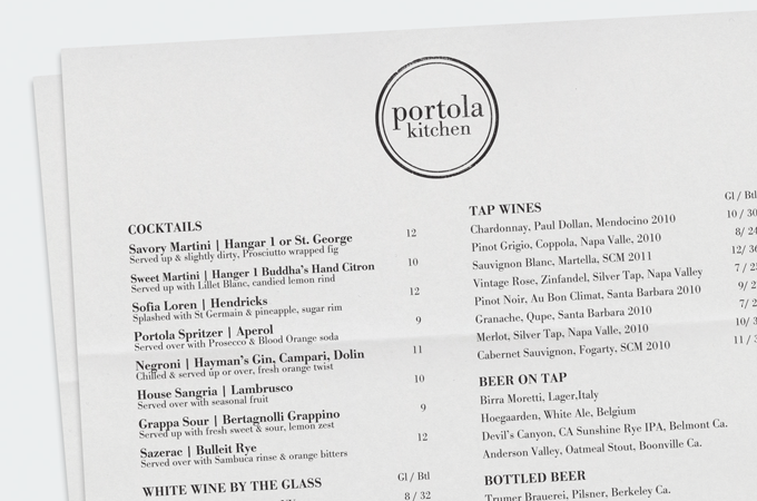 Portola Kitchen